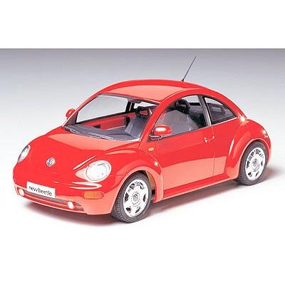 Maquette voiture: Volkswagen New Beetle - Tamiya-24200