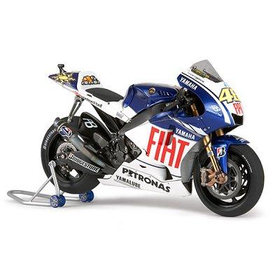 Maquette Moto: Yamaha YZR-M1 09 Fiat Yamaha Team - Tamiya-14117