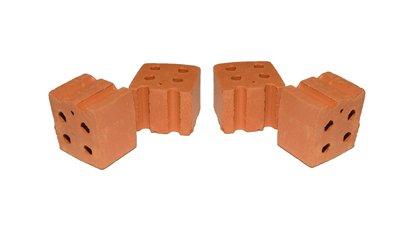 30 Demi briques - Teifoc-906701