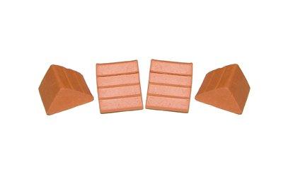 40 Petites briques triangulaires - Teifoc-906711