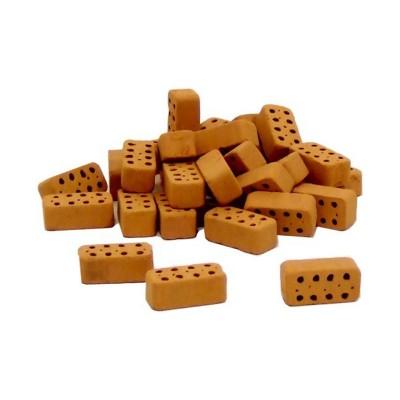 Briques perforées bords arrondis x30 - Teifoc-956601