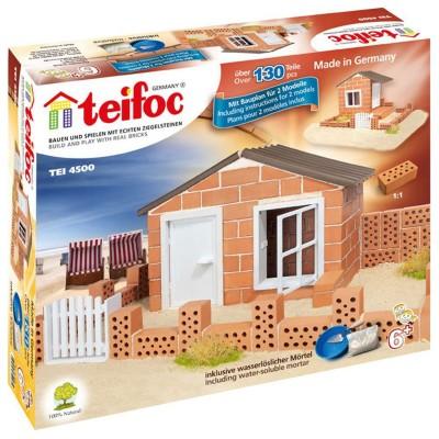 construction en briques maison de plage jeux et jouets teifoc avenue des jeux