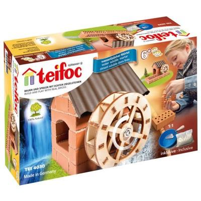 Construction en briques : Moulin à roue - Teifoc-4030