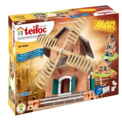 Construction en briques : Moulin solaire - Teifoc-8000