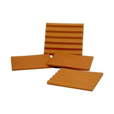 Plaques de toit rouges x4 - Teifoc-903800