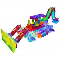 Briques de construction : Bulldozer 8 en 1 -106 pièces