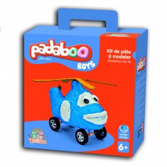 Pâte à modeler Padaboo : Kit de pâte à modeler Boys -Hélicoptère