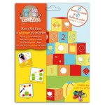 Perforer et colorier : Mon p'tit bloc Perfos Cubes