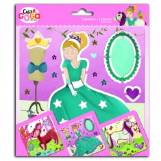Set de 3 pochoirs Princesses