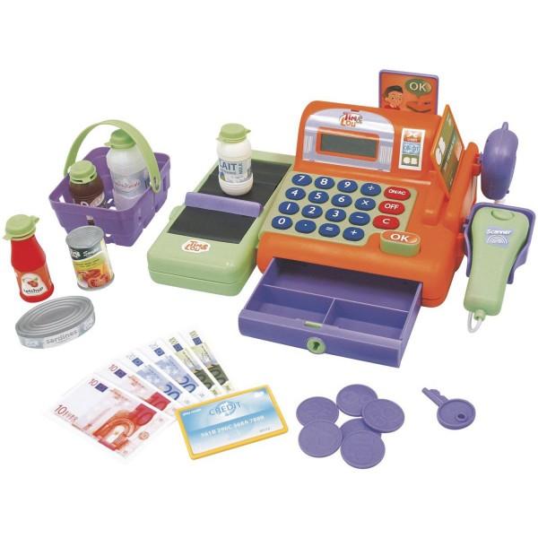 caisse enregistreuse et accessoires jeux et jouets tim lou avenue des jeux. Black Bedroom Furniture Sets. Home Design Ideas