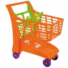 Chariot de supermarché : Orange