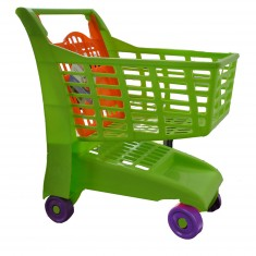 Chariot de supermarché : Vert