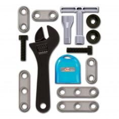 Set d'outils de bricolage : Clé à molette et accessoires