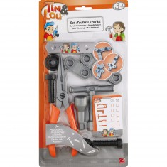 Set d'outils de bricolage : Pince et accessoires