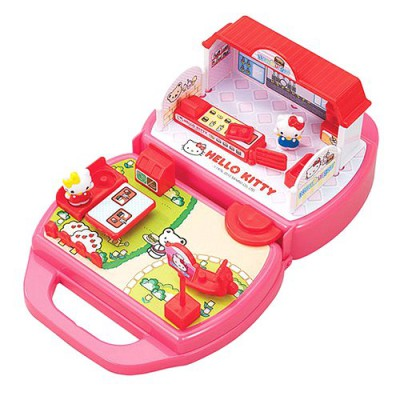 Maison de poup es hello kitty le fast food toho magasin de jouets pour enfants - Maison de poupee hello kitty ...