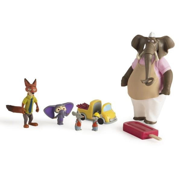 Coffret de figurines Zootopie : Opération Redwood - Tomy-L70904