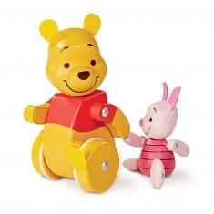 En route les amis : Winnie l'ourson et Porcinet