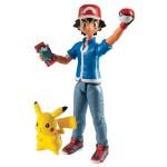 Figurine d'action Pokemon : Sacha et Pikachu