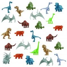 Figurines Le Voyage d'Arlo : Tubes de mini dinosaures