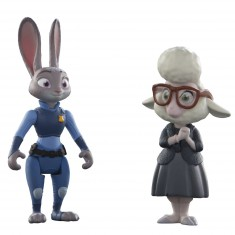 Figurines Zootopie : Judy Hopps et May Bellwether