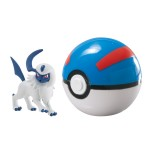 Pokemon : Poke Ball XY Clip n'Carry Absol et Super Ball
