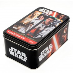 Boite métal Collector Star Wars : C3-PO/Leia/Poe Dameron/Capitaine Phasma