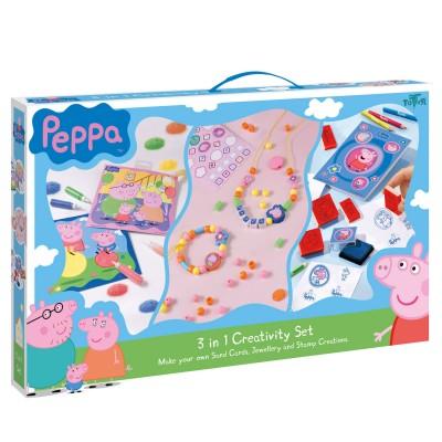 Coffret cr atif 3 en 1 peppa pig jeux et jouets totum avenue des jeux - Fusee peppa pig ...