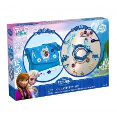 Kit créatif 2 en 1 la Reine des Neiges (Frozen)