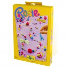 Kit créatif Bague et collier : Creativity Rosie