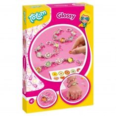 Kit créatif bracelets Creativity A5 : Glossy