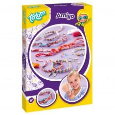 Kit créatif bracelets d'amitié Creativity A5 : Amigo avec pendants Best Friends