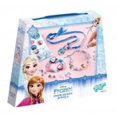 Kit créatif La Reine des Neiges (Frozen) : Bijoux