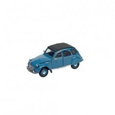 Voiture en métal Citroën 2CV6 Charleston : Bleu