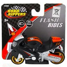 Moto Road Rippers : Flash Rides : noire et orange