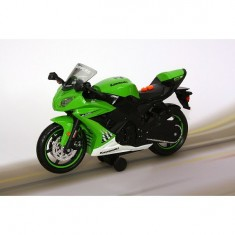 Moto roue arrière : Kawasak Ninja ZW-10R : Vert
