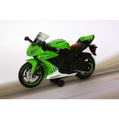 moto roue arri re kawasak ninja zw 10r vert toystate le lutin rouge. Black Bedroom Furniture Sets. Home Design Ideas