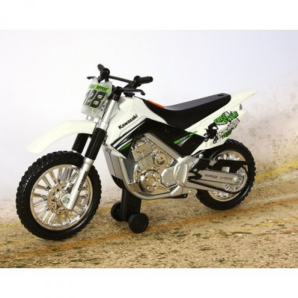 moto roue arri re kawasaki klx 140 blanc jeux et jouets toystate avenue des jeux. Black Bedroom Furniture Sets. Home Design Ideas