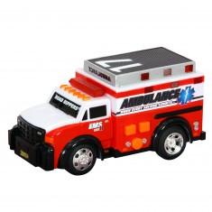 Véhicule de secours : Road Rippers : Voiture d'ambulance