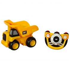 Véhicule de chantier radiocommandé CAT Junior infrarouge : Camion benne
