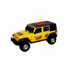 Véhicule Rollin Rocker : Jeep Wrangler Jaune