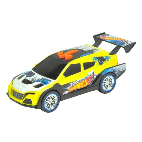 Voiture Hot Wheels Pedal Mashers : Loop Car jaune - Toystate-90550-90552