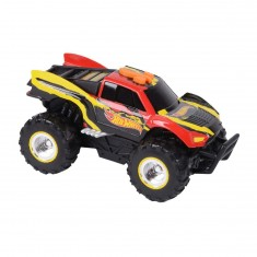 Voiture Hot Wheels Pedal Mashers : Monster Truck rouge