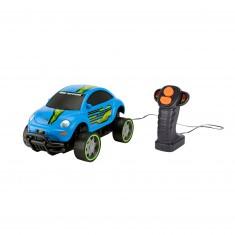 Voiture radiocommandee : Road Rippers : Volkswagen Beetle bleue