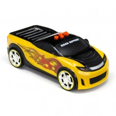 Voiture Road Rippers : Wheelie Poppers : Jaune