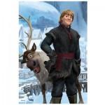 Puzzle 54 pièces Mini Reine des neiges : Kristoff et Sven