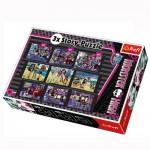 Puzzle 30 à 60 pièces : 3 puzzles Story : Monster High