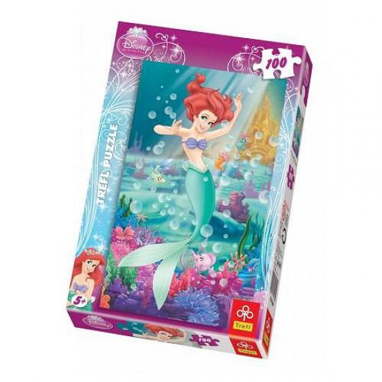 Puzzle 100 pièces - Ariel la petite sirène - Trefl-16164