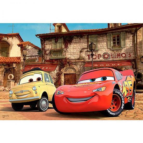 Puzzle 100 pièces - Cars 2 : Les meilleurs amis - Trefl-16160