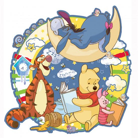 Puzzle 100 pièces contour : Winnie l'ourson : Bonne nuit - Trefl-39071