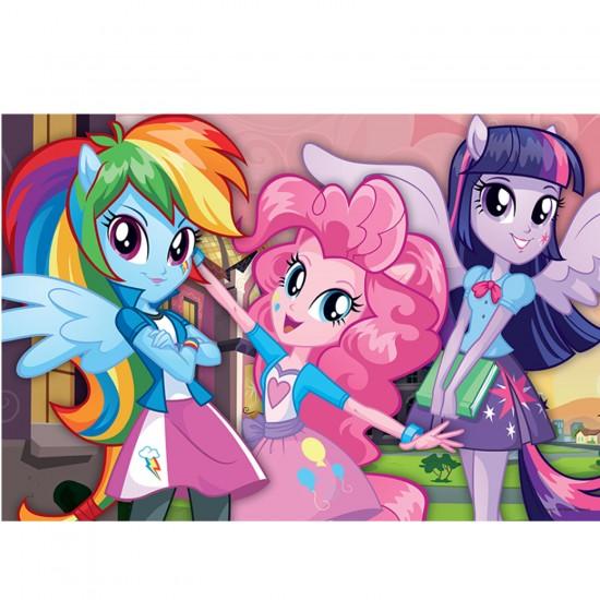 Puzzle 100 pièces Equestria Girls : Après l'école - Trefl-16253